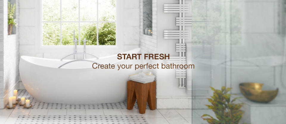 Start Fresh: Build your perfect bathroom