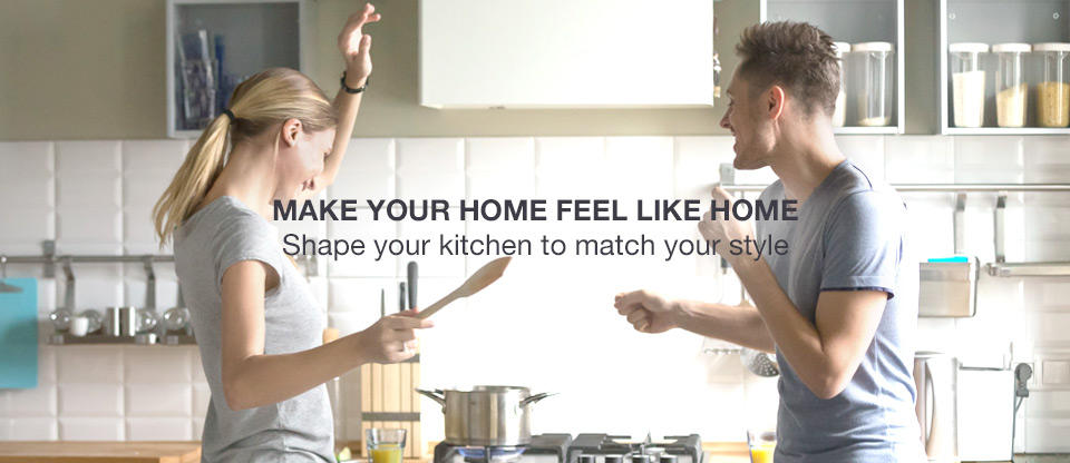 Make Your Home Feel Like Home: Shape your kitchen to match your style